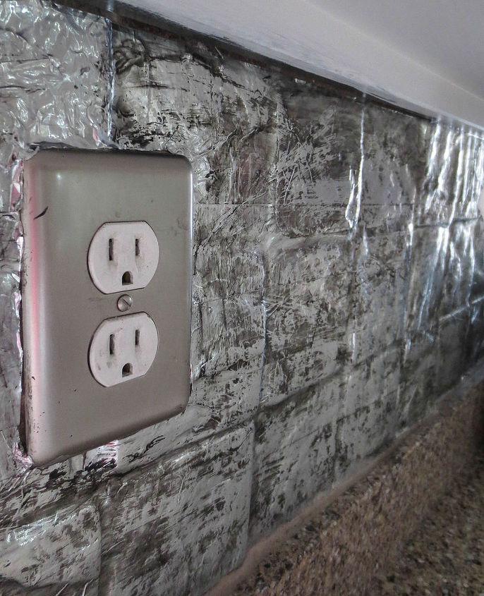 Cover an Ugly Tile Backsplash | Hometalk