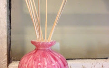 diy diffuser, cleaning tips, crafts, Add reeds and get ready for the scent to flow It does take a few days for the reeds to absorb the oil and release its scent