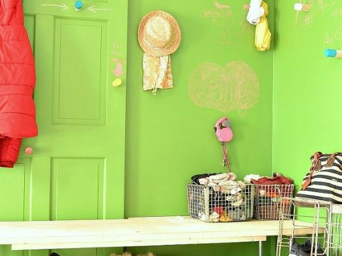 mudroom reveal, home decor, laundry rooms