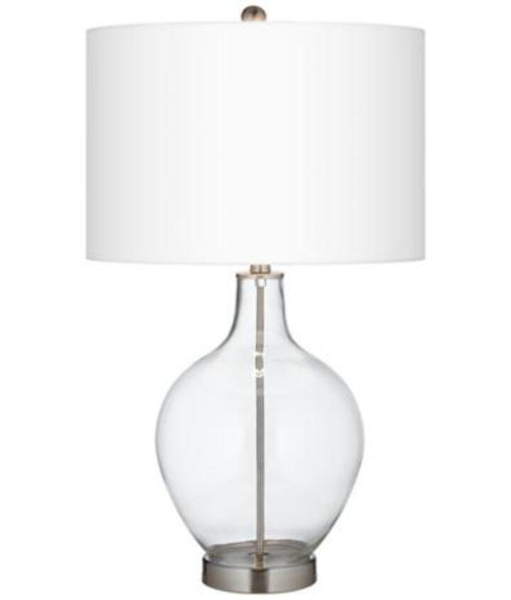 Lamp before.