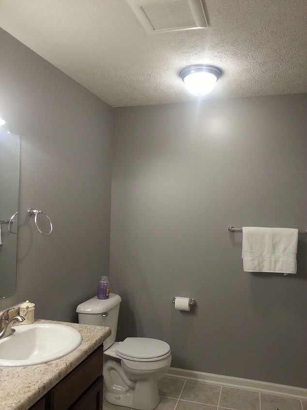 accent colors needed please bedroom and bath, bathroom ideas, bedroom ideas, home decor, Attached to this Master Bath is the bedroom that is a blue gray
