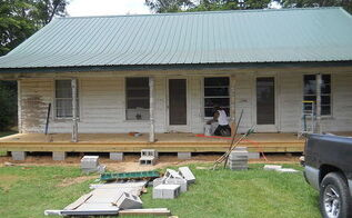 farmhouse renovation, home improvement, porches