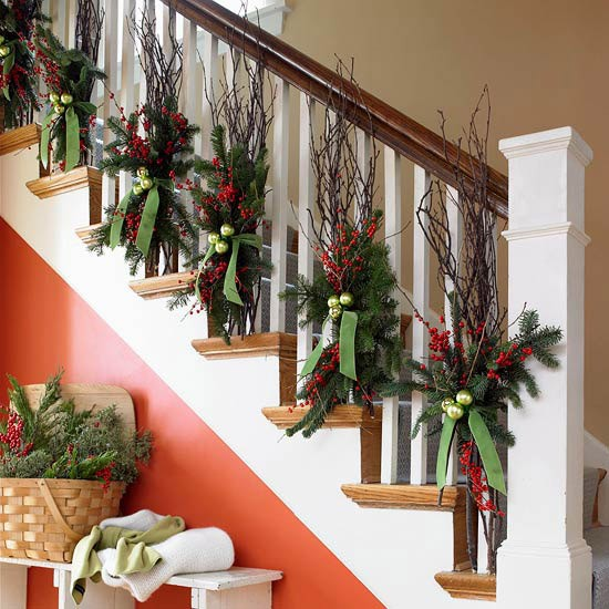 6 holiday decorating tips to better use what you already have, repurposing upcycling, seasonal holiday decor, Pick A Few Main Colors Like This Red Green Brown White Then Keep The Decor Simple Suited To Your Home HolidayCheer