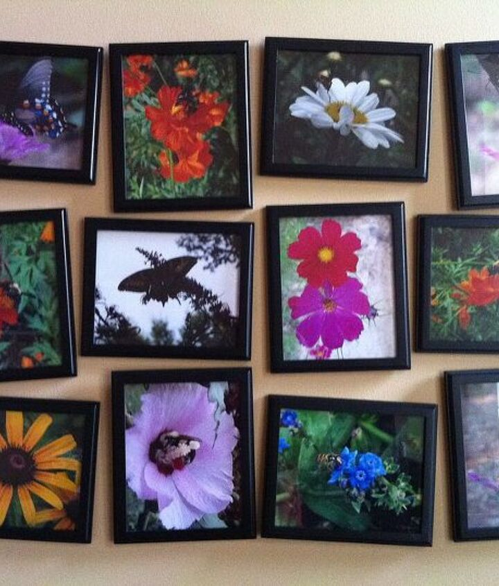 pictures on my living room wall, home decor