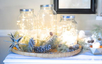 DIY Holiday Decor - Glittered Pinecones