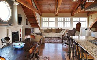 barn apartment tour, home decor