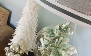 hometalk lamps plus holiday design challenge winter wonderland, lighting, seasonal holiday decor, Winter Wonderland Lighting