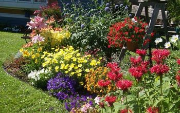 fertilizer tips tricks that work for me, container gardening, flowers, gardening, landscape, perennial, I fertilize my garden beds like this every week and for me these tips work