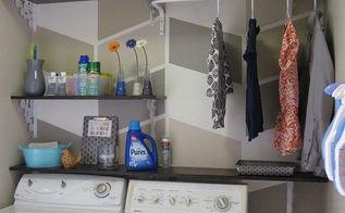 124 laundry room overhaul pass through to garage custom diy shelves labels, flowers, garages, home decor, laundry rooms, organizing, shelving ideas, DIY 124 Laundry Room Overhaul