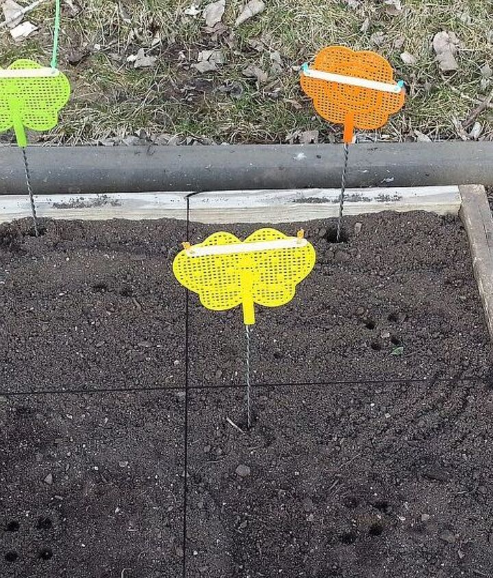 flyswatter gardenstakes, gardening