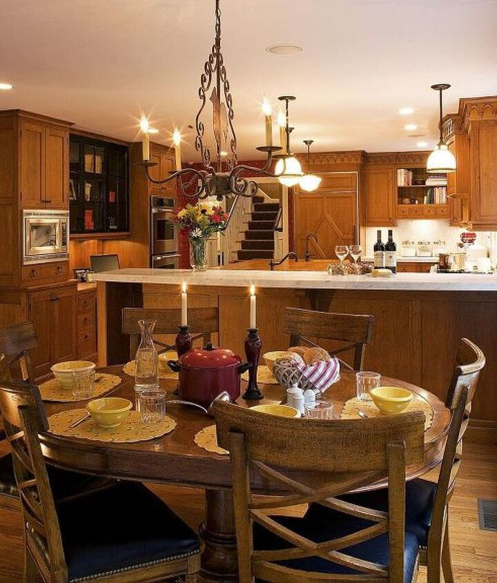 Eating area of Kitchen Renovation by Titus Built, LLC