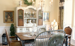 diy planked dining room table, dining room ideas, painted furniture, woodworking projects