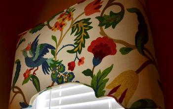 a new window treatment, crafts, home decor, window treatments, windows, My new cornice