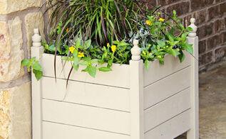 diy 15 outdoor planter boxes, decks, doors, gardening, outdoor living, woodworking projects, Outdoor Planter Box DIY