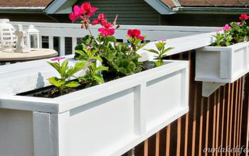 DIY Project: Deck Planter Boxes