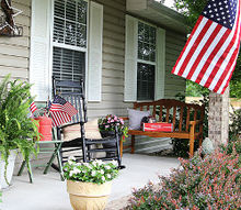 celebrating the red white and blue in style, outdoor living, patriotic decor ideas, seasonal holiday decor, I enjoy decorating for the 4th of July