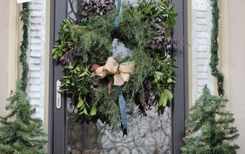 How to Make a Semi-Natural Evergreen Wreath