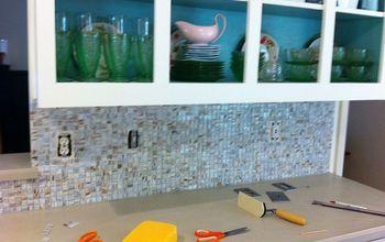 Kitchen Tile Makeover