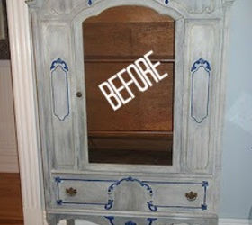 Ordinaire Antique China Cabinet To Linen Chest, Chalk Paint, Kitchen Cabinets,  Painted Furniture,