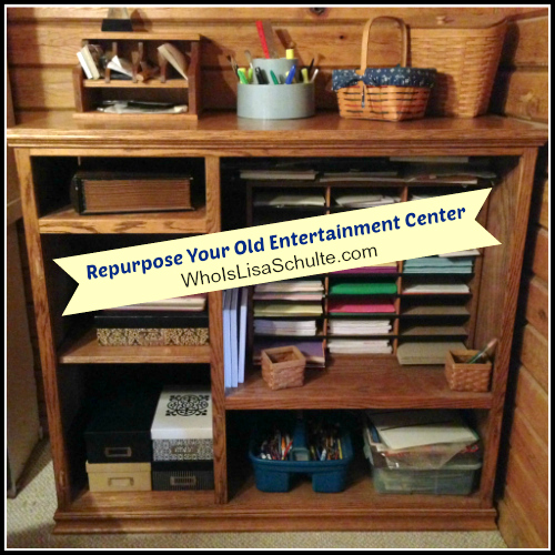 How To Repurpose Your Old Entertainment Center Hometalk