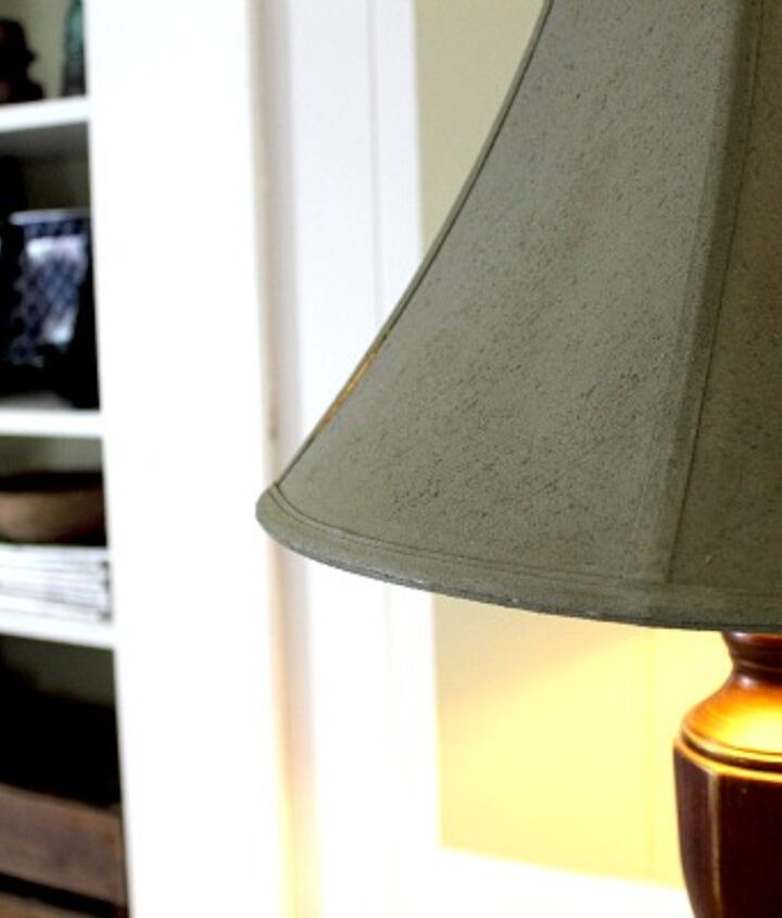 how to paint your lampshade, crafts, painting