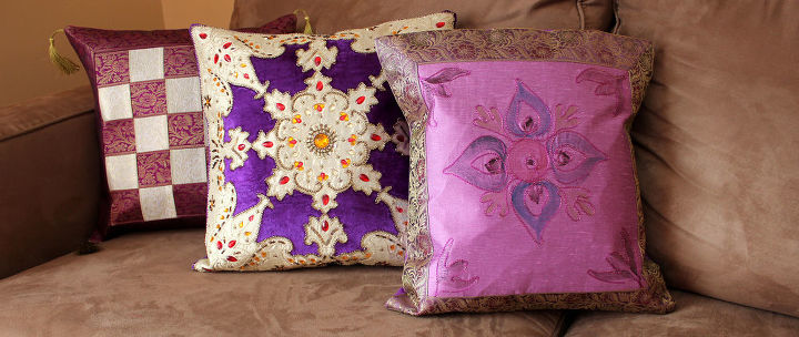 Transforming Ordinary Pillows into a Display of Art! | Hometalk