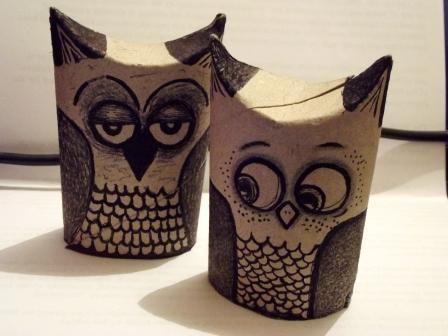 Diy owl decor home decor renovation ideas diy owl decor diy toilet paper owls crafts seasonal holiday decor diy toilet paper owls solutioingenieria Images