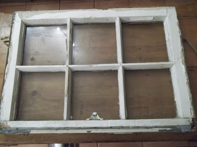 what to do with a vintage window, repurposing upcycling, An old window found on the curbside