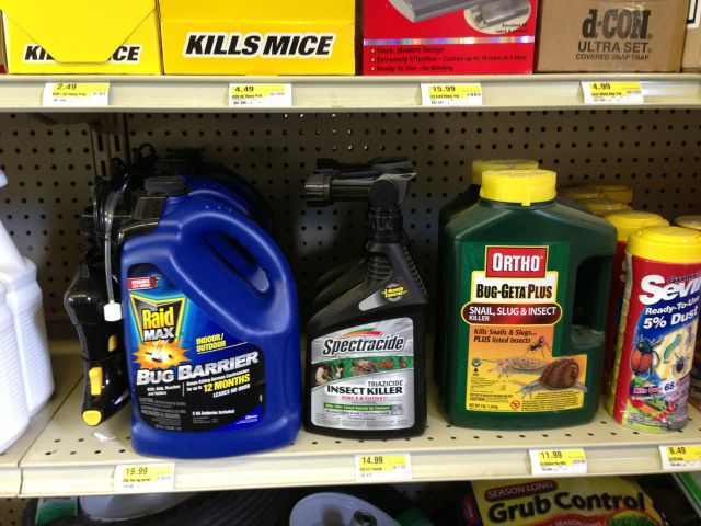 pesticide recommendations, gardening, lawn care, pest control