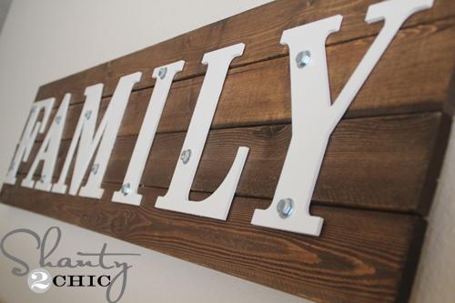 Fresh DIY Wood Family Sign | Hometalk EJ98