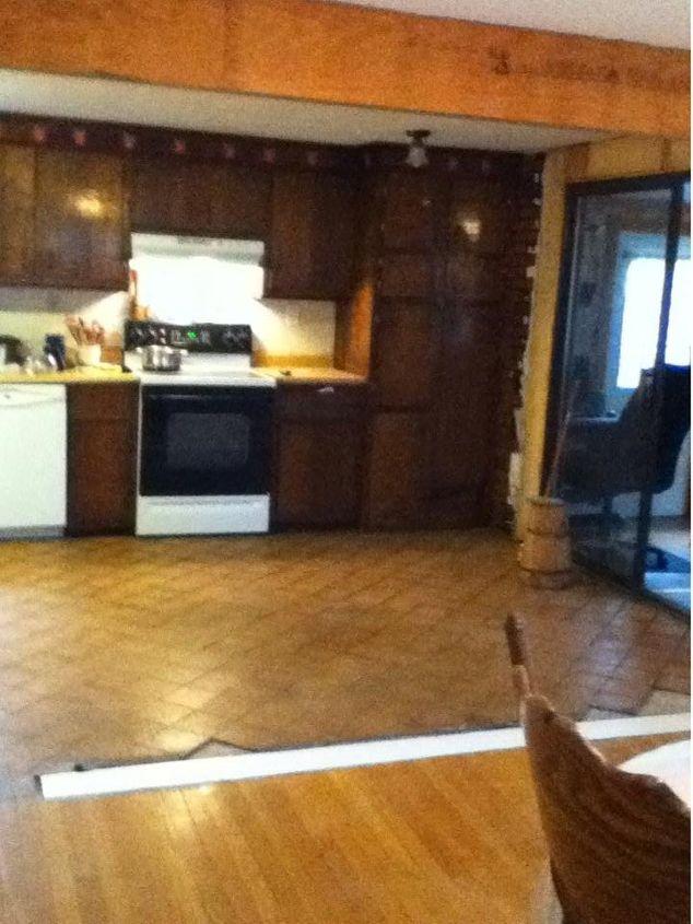 kitchen nightmare to kitchen dream, home improvement, kitchen cabinets, kitchen design, Kitchen before