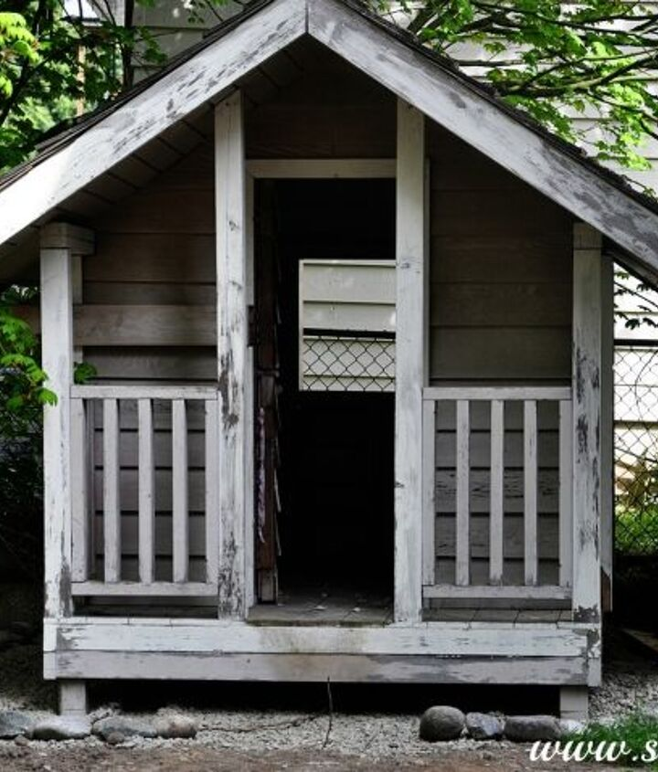 It started as a slightly dilapidated shed-type thing (just needed a bit of love)
