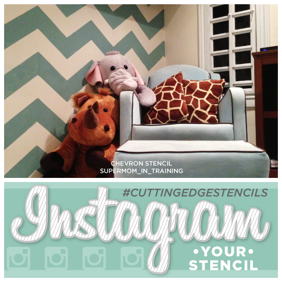 instagram your stenciled space cuttingedgestencils, painting