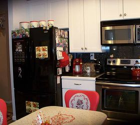 My 1940 S Inspired Kitchen Renovation, Home Improvement, Kitchen Design,  Fridge Wall Found