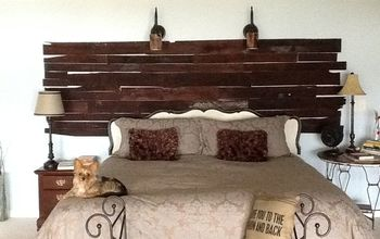 my pallet wall, bedroom ideas, home decor, pallet