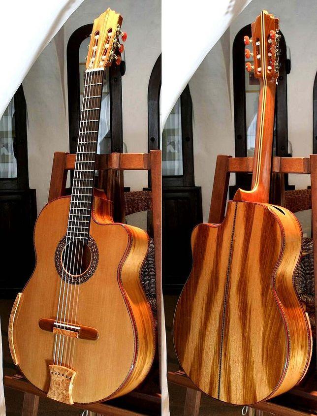 Tigerwood Guitar