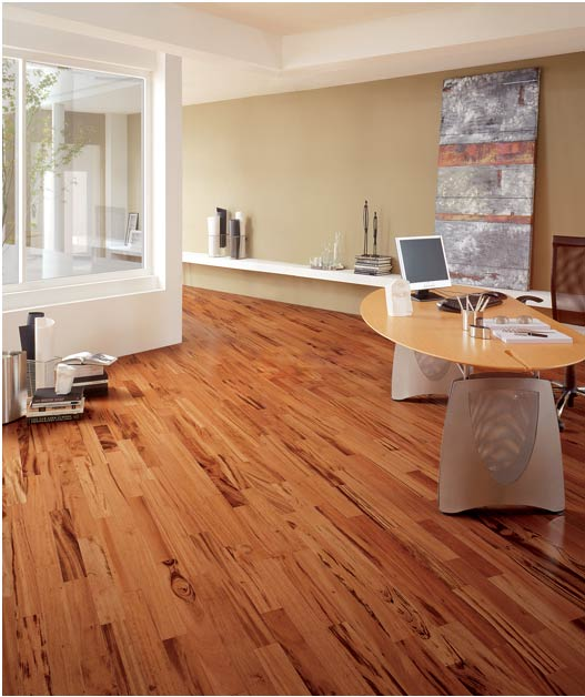 Tigerwood Flooring. Beautiful!