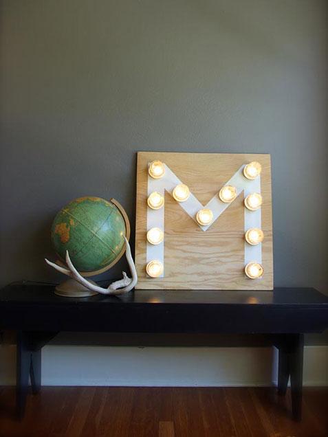 4. Mason Jar Monogram