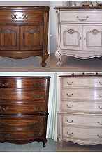 lessons in chalk paint, chalk paint, painted furniture