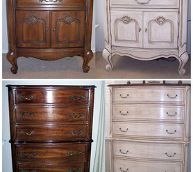 Lessons In Chalk Paint, Chalk Paint, Painted Furniture. Before And After ...