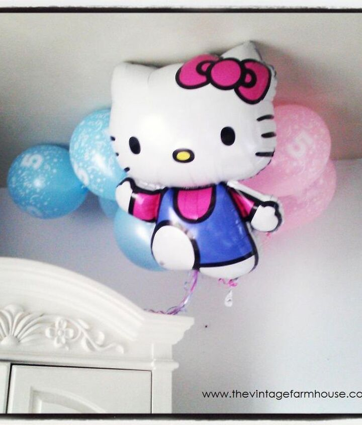 Balloons from Party City.