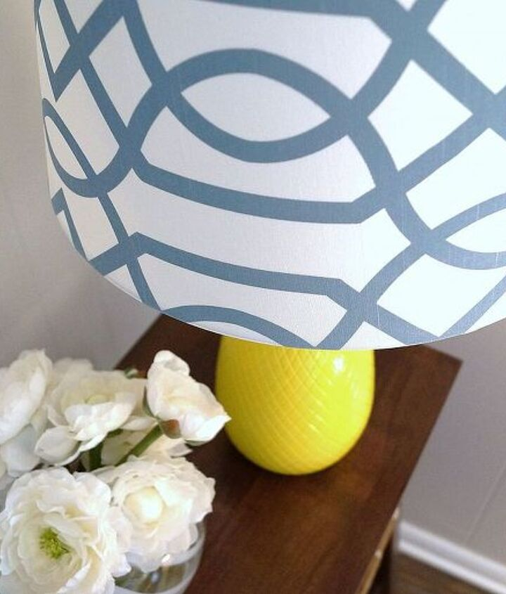 I found the perfect lampshade at Target.  Target Never Disappoints!