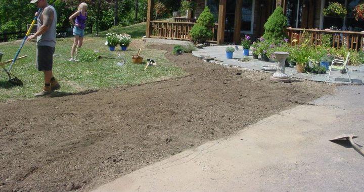season 1, gardening, Before
