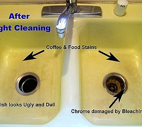 removing kitchen sink stains preventing them from coming back rh hometalk com