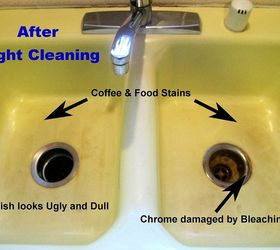 Great Removing Kitchen Sink Stains Preventing Them From Coming Back, Cleaning  Tips, Kitchen Design,
