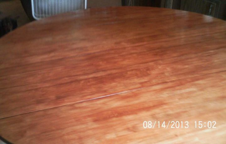 After 2 coats of stain