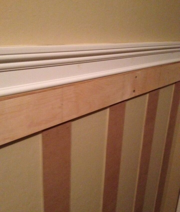During Photo Close up of Moulding