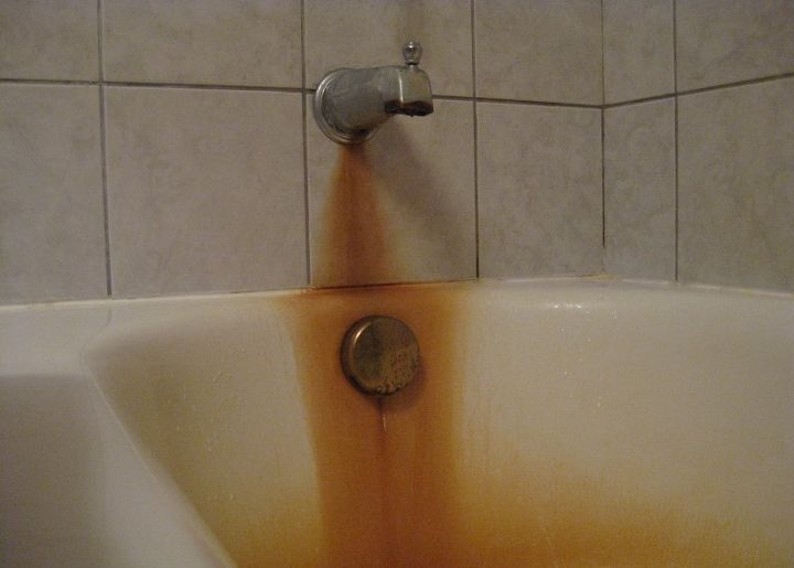 How To Remove Rust Stains From Tub Hometalk