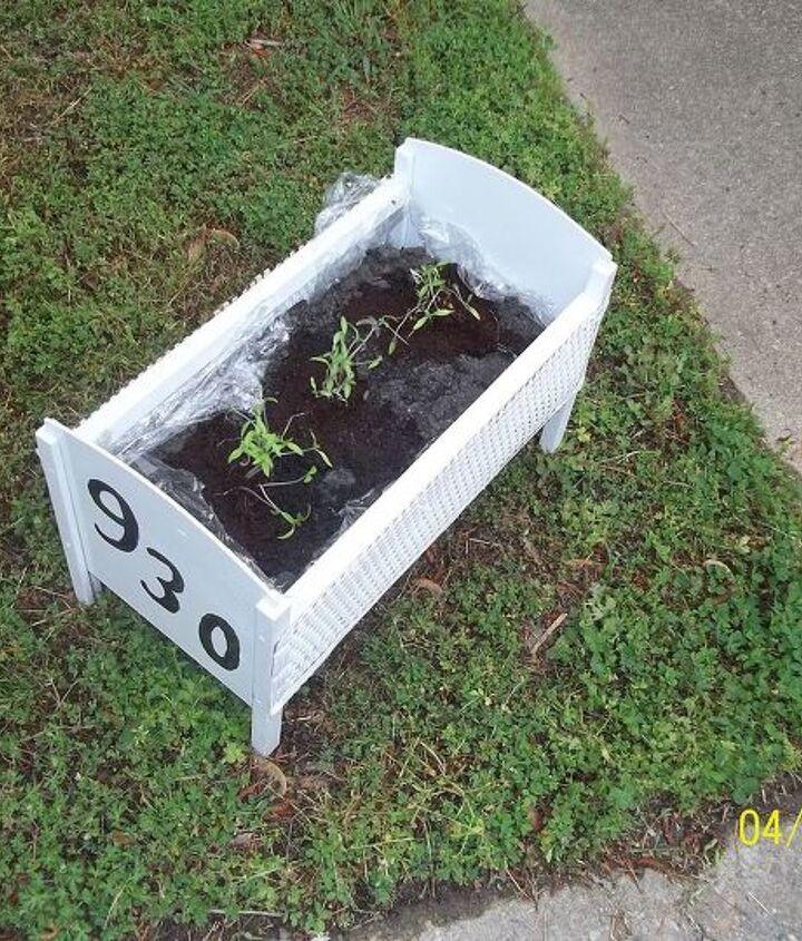 Toy Crib Planter