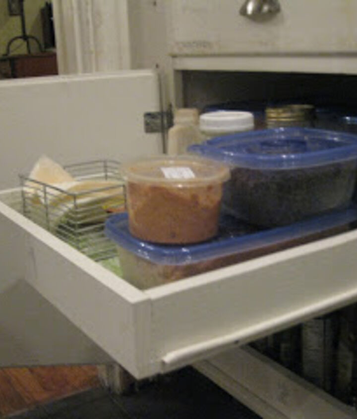 diy pull out cupboard drawers, cleaning tips, kitchen cabinets, organizing